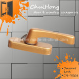 Цинк высокого качества для изготовителей оборудования порошковой краской литой детали мебели оборудование поставщика Китая запирания на ручке двери