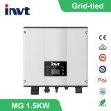 Sistema legato griglia di energia solare di monofase di Invt 1.5kwatt/1500watt