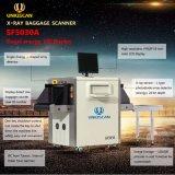 O menor tamanho típico de raios X Sala scanner Scanner de bagagem de raios X