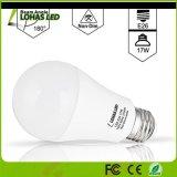 Lâmpadas mornas equivalentes energy-saving do diodo emissor de luz do branco 2700K do bulbo 100-150W do diodo emissor de luz A19 (diodo emissor de luz 17W) para a iluminação Home