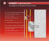 Accessoires de fixation pour les panneaux composés en aluminium