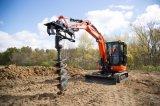L'arbre plante des morceaux de foret de foreuse de terre avec le certificat de la CE