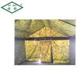 高品質の鋼鉄屋外の冬の軍隊の緑のキャンバスのテントの軍のキャンプテント