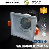 Fuego ligero Downlight clasificado del precio bajo de la alta calidad LED abajo
