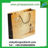 Custom эффектных тиснения магазины подарков бумажных мешков для пыли