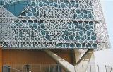 Corte láser de aluminio Panel perforado tallar valla