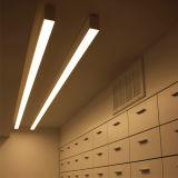 110lm/W Dali/1-10V obscurcissant la lumière linéaire de joncteur réseau en aluminium