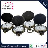Stahl/Alloy-Fall Soem-Pocket Uhren für Förderung