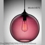 Ultra freie Kugel Glas durchgebrannt für hängende Lampe I074