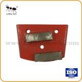 Segment de la plaque de métal Diamond meulage Outils du matériel du disque abrasif pour le béton