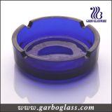 Portacenere di vetro di alta qualità di cristallo rotonda (GB2030)