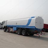 Vehículo de salida del combustible del carro de petrolero del transporte del petróleo de Sinotruk HOWO 40liters 8X4 LHD/Rhd
