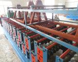Le profil hydraulique en métal de découpage a ridé le roulis de feuille de toit formant la machine