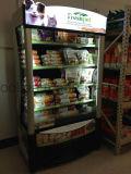 Supermercado abrir armários leiteiro Multidecks Remoto Chiller Aberto