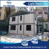 Villa de luxe préfabriquée en acier de lumière facile de construction