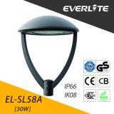 Lámpara del jardín de Everlite 30W LED con el Ce TUV-GS de los CB