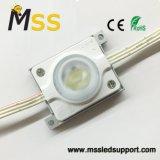L'écran 3W double côté Lightbox Drop-LED blanc dans le module