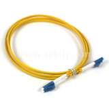 LC - LC Upc Duplex de fibra óptica monomodo patch cord