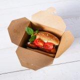Desechables, comida para llevar caja de embalaje de papel