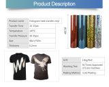 Tシャツのためのホログラムの熱伝達のビニールの印刷ロールスロイス