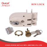 Immy Kit de bloqueo de la noche el pestillo de bloqueo de puertas de Rim con accesorios