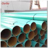 Tubo d'acciaio saldato spirale del rivestimento di Fbe per il gasdotto di olio