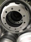 La rueda de acero del carro de la alta calidad, borde de la rueda del carro, acero bordea los 10 orificios de tipo americano 22.5X8.25