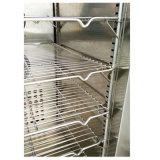 Las patatas fritas aprisa congelan el congelador del refrigerador de la ráfaga de la máquina