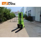 Venda a quente Semi-Electric empilhador com capacidade de carga de 1000 kg