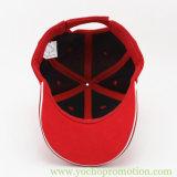 中国の製造業者の赤い綿サンドイッチ野球帽
