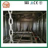 Industrielle Korb-Rahmen-Unterlegscheibe und Ladeplatten-Tellersegment-Waschmaschine