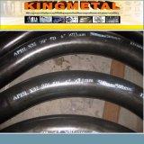 """API5l X70 Psl-2 de 42"""" 15dge 10d de la fábrica de acero al carbono doblar"""