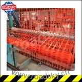Het anti Verouderen de Oranje Tijdelijke Zachte Barrière van de Veiligheid van het Gebied van de Bouw Plastic