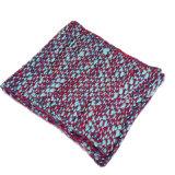 Snood петли шарфа грелки шеи типа обруча клобука женщин множественной толщиной связанный зимой (SK125)