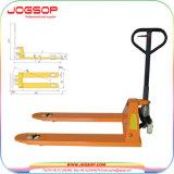 Transpaleta hidráulica manual con báscula de pesaje