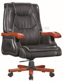Foshan Silla de oficina giratorio de la fábrica de cuero barato silla ejecutiva (SZ-OC113)