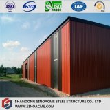 Estructura de acero conveniente almacén de muebles