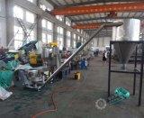 Hohe Kapazitäts-niedrige Kosten Plastik-pp. PET Agriculatural Film, der Granulation-Maschine aufbereitet
