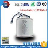 Tiefe Lithium-Ionenbatterie der Schleife-12V 40ah für Solargebrauch