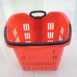 Einkaufszentrum-Korb-Apple-Typ Plastikeinkaufskorb