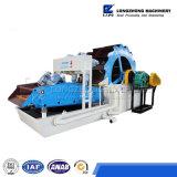 De Machine van de Was en van het Recycling van het zand voor het Schoonmaken van het Zand van Lzzg