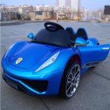 La conduite de bébé sur le coffre-fort de moto de véhicule badine le véhicule électrique de jouet