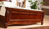 固体木のベッドの現代ダブル・ベッド(M-X2275)