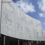 Экран искусствоа металла панели внешней стены плакирования декоративный