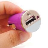多くのカラーをのための選択しなさい安い単一USBポート旅行車の充電器