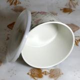 Bambusfaser-Vielzweckkasten-Lebensmittelkonservierung-Kasten-gesunder Mittagessen-Kasten mit einem Deckel (YK-B3063)