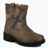 Fille de ma circonscription d'hiver de chaussures pour enfants Mirco fibre de la moitié des bottes pour les enfants