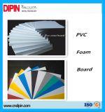 Tarjeta negra/blanca de la espuma del PVC del color