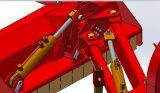 Falciatore laterale chiaro standard del Flail del bordo del Ce (EFDL105)