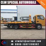 4*2 que carga el vehículo de remolque plano carro de camión de auxilio de 4 T para la venta